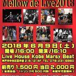 2018/6/9(Sat)10th Anniversary Mellow de Live2018